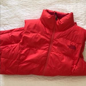 Northface Full Zipper Puffer Vest